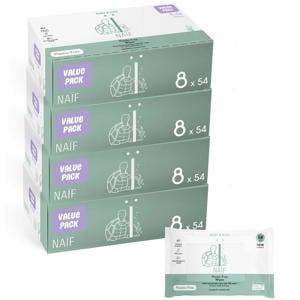 plastic vrije baby voordeelbox billendoekjes - 32 stuks
