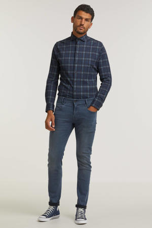 slim fit jeans Freighter grijsblauw