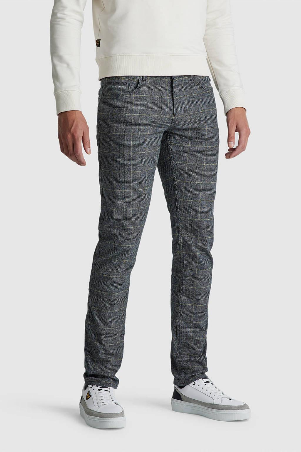 PME Legend regular straight fit jeans Nightflight 9079 grijs, 9079 Grijs