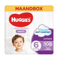 Huggies Huggies Ultra Comfort Pants maat 6 - 108 stuks, 6 (15+ kg)