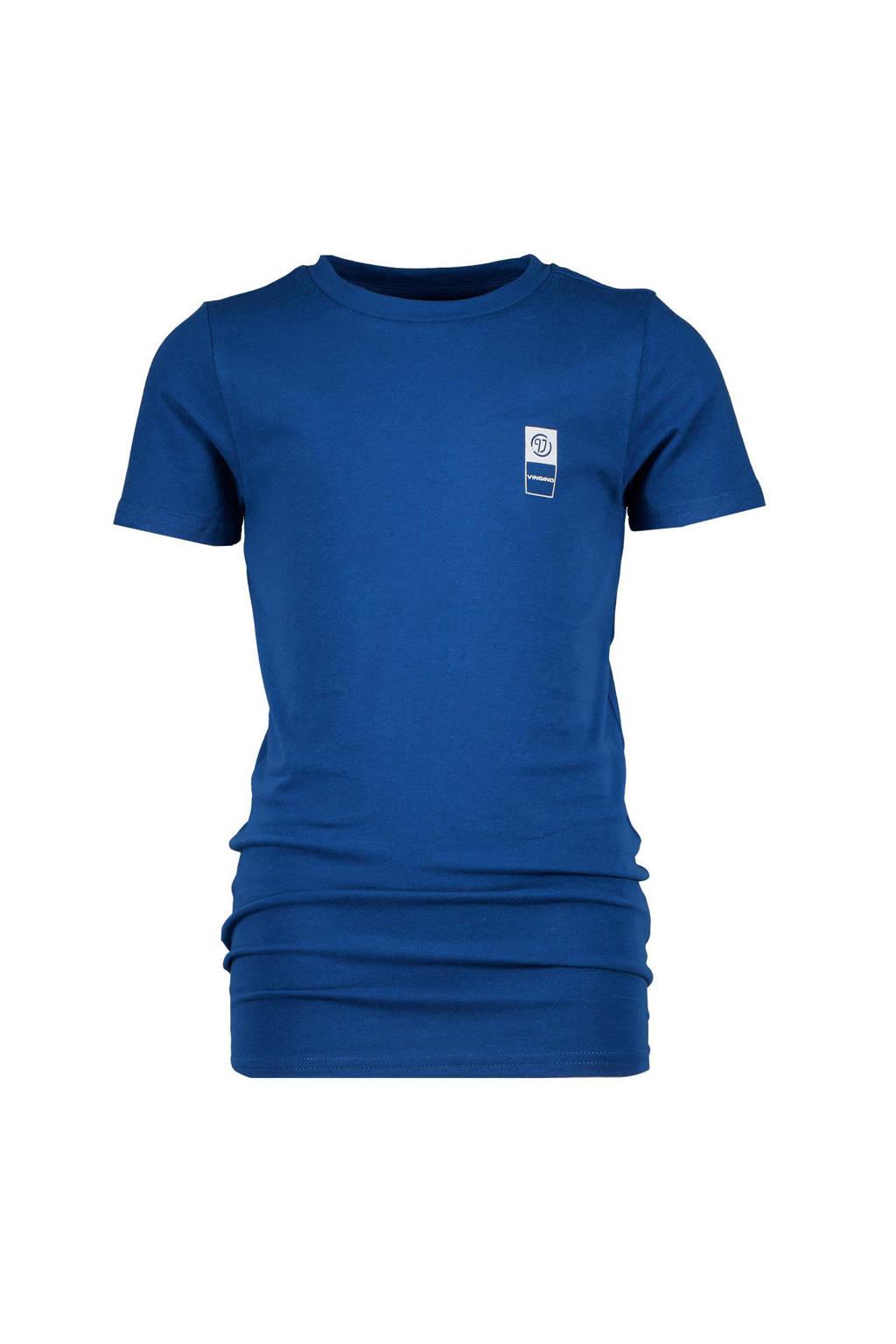 Vingino Essentials basic T-shirt hardblauw, Hardblauw