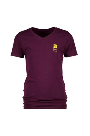 basic T-shirt roodpaars