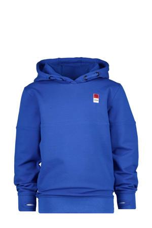 hoodie helderblauw
