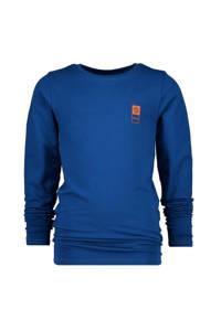 Vingino Essentials basic longsleeve blauw, Blauw