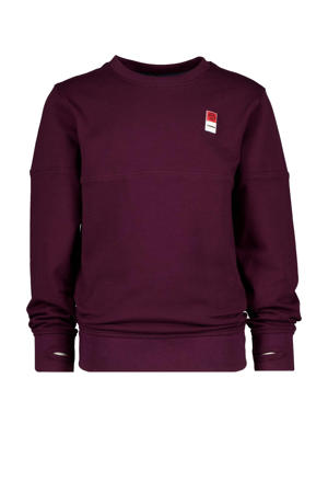 sweater donkerrood/paars