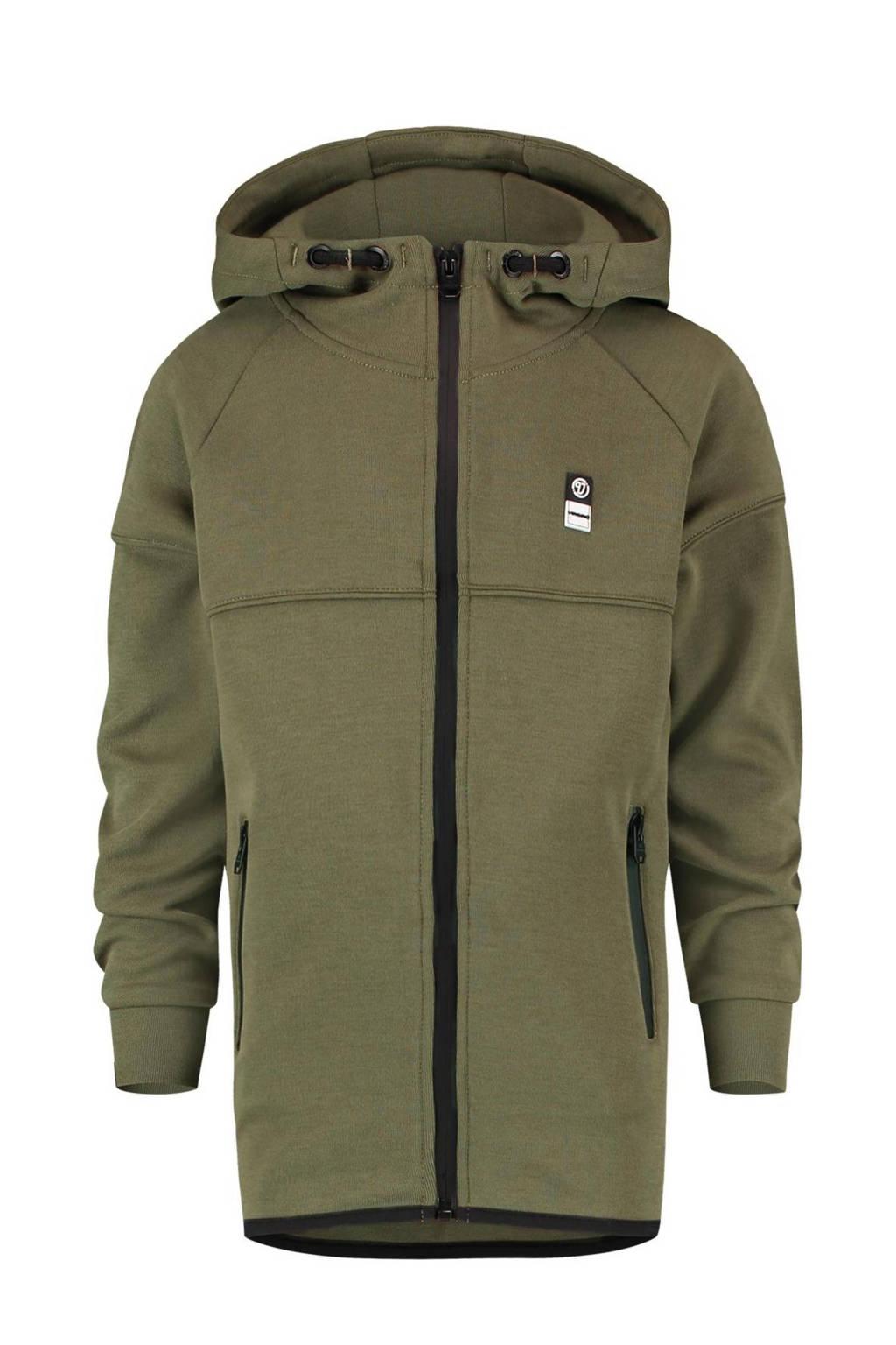 Vingino Essentials vest army groen, Army groen