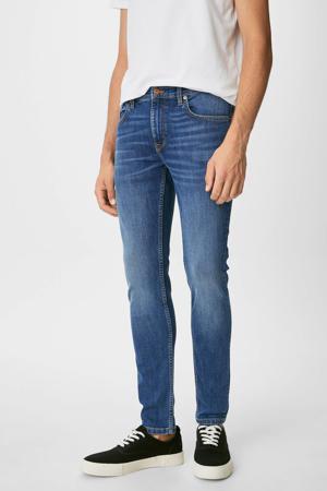 skinny jeans midbluedenim
