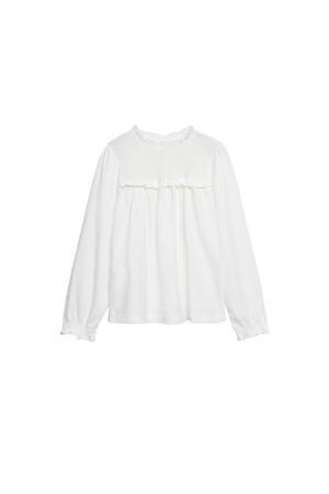 blouse naturel wit