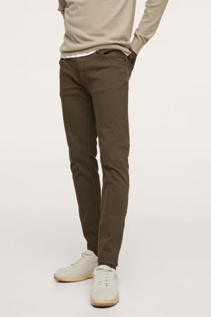 skinny jeans beige - kaki