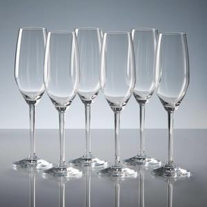 champagneglas lilly (set van 6)