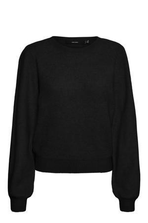 fijngebreide trui VMLEFILE zwart