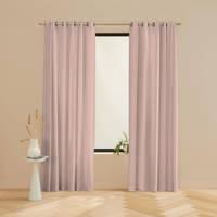 Wehkamp Home verduisterend gordijn op maat Serene 45 soft pink