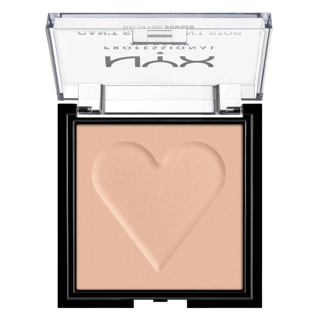 NYX Professional Makeup Can't Stop Won't Stop Mattifying Powder - Medium