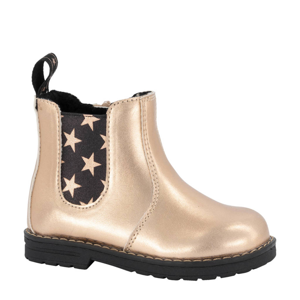 Cupcake Couture   chelsea boots goud, Goud