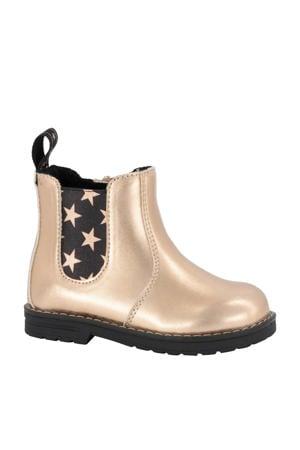 chelsea boots goud