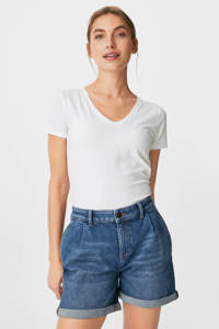 C&A jeans short blauw, Blauw