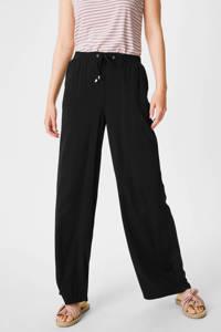 C&A Yessica wide leg broek zwart, Zwart