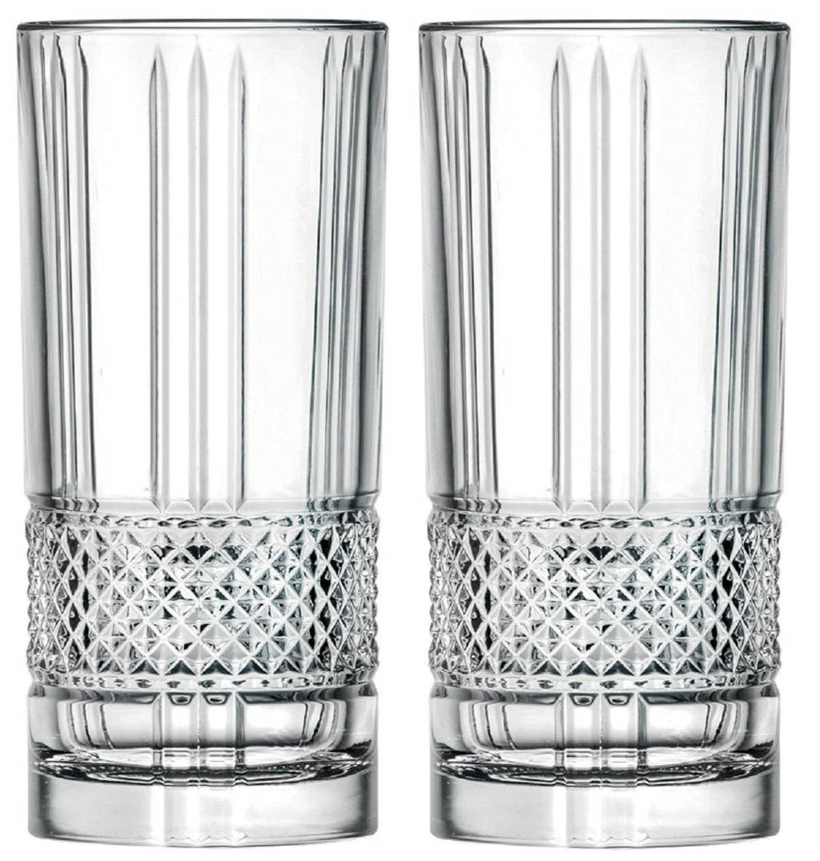 Jay Hill longdrinkglas (set van 2), Transparant