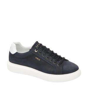 Vito  nubuck sneakers donkerblauw