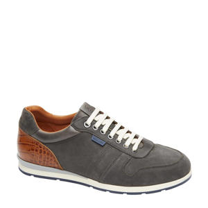Davinci  nubuck sneakers grijs