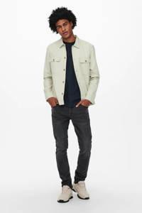 ONLY & SONS slim fit jeans ONSLOOM grey denim 0916, Grey Denim 0916