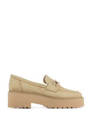 57076 Lois Brake  nubuck loafers beige