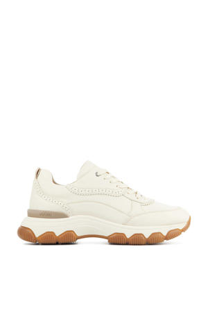 57062 Coco Tess  nubuck chunky sneakers ecru