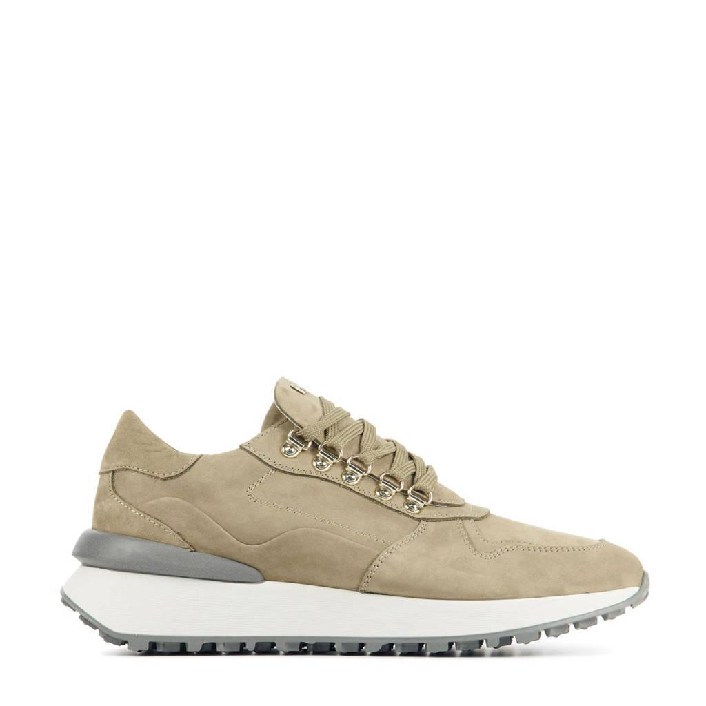 Red Rag 76846  nubuck sneakers beige, Beige/taupe