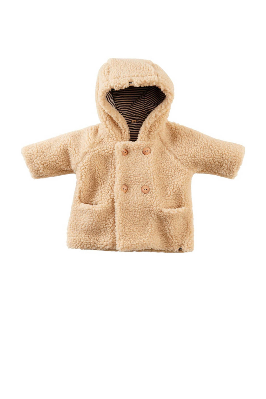 Z8 baby teddy winterjas Banka beige, Beige