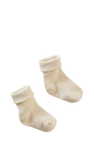 newborn baby sokken Samoa ecru