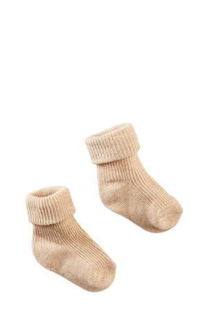 newborn baby sokken Kiawah beige