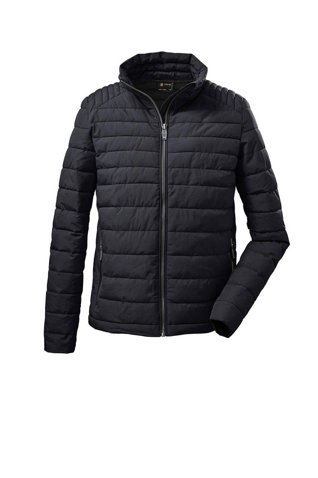 Killtec outdoor jas GW 40 donkerblauw, Donkerblauw