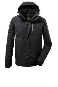 Killtec outdoor jas Kow 161 zwart, Zwart