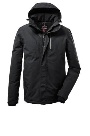 outdoor jas Kow 161 zwart