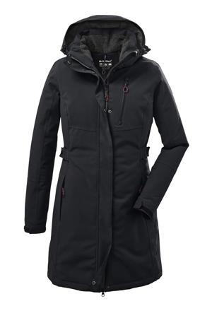 outdoor jas Kow 165 zwart
