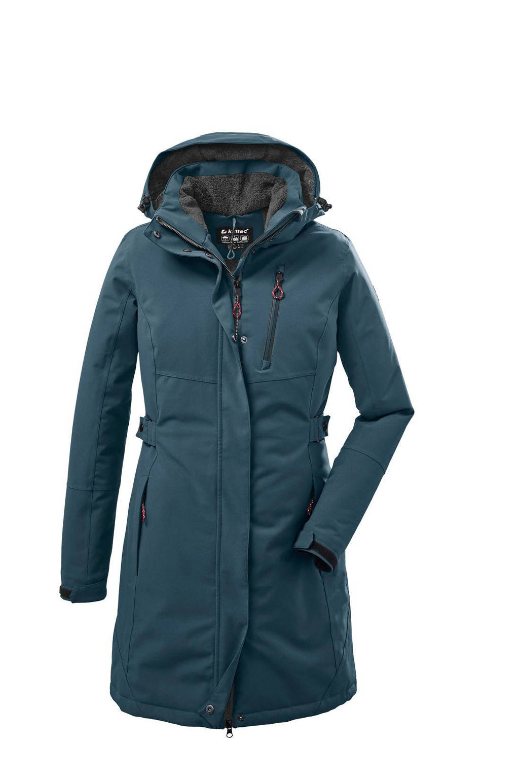 Killtec outdoor jas donkerblauw, Donkerblauw