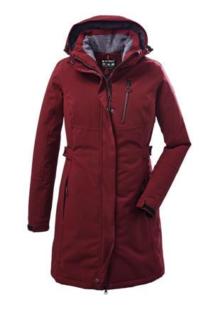 outdoor jas Kow 165 donkerrood