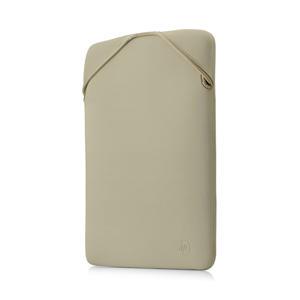 Reversible 15.6 inch laptop sleeve (zwart/goud)