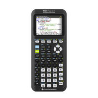 Texas Instruments TI-84 Plus CE-T Python Edition, Zwart