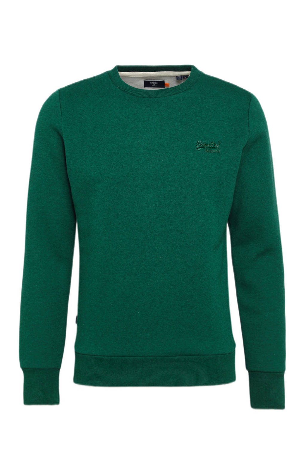 Superdry sweater forest green marl, Forest Green Marl