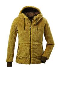 Killtec outdoor vest  GW 33 donkergeel, Donkergeel