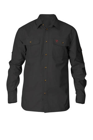 outdoor overhemd antraciet