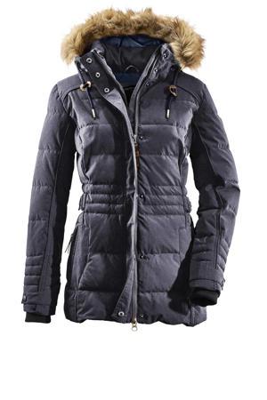 outdoor jas Oiva dark denim