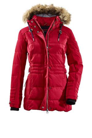 outdoor jas Oiva rood