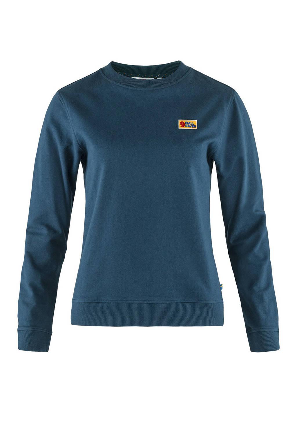 Fjällräven outdoor sweater Vardag petrol, Petrol