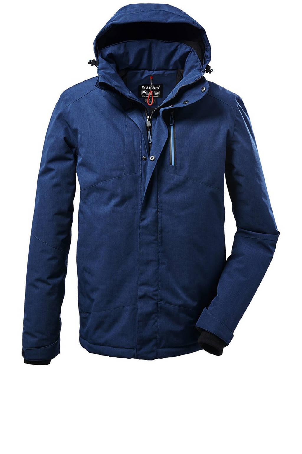 Killtec outdoor jas Kow 161 blauw, Blauw