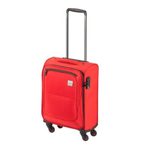 trolley Colombo S 55 cm. rood