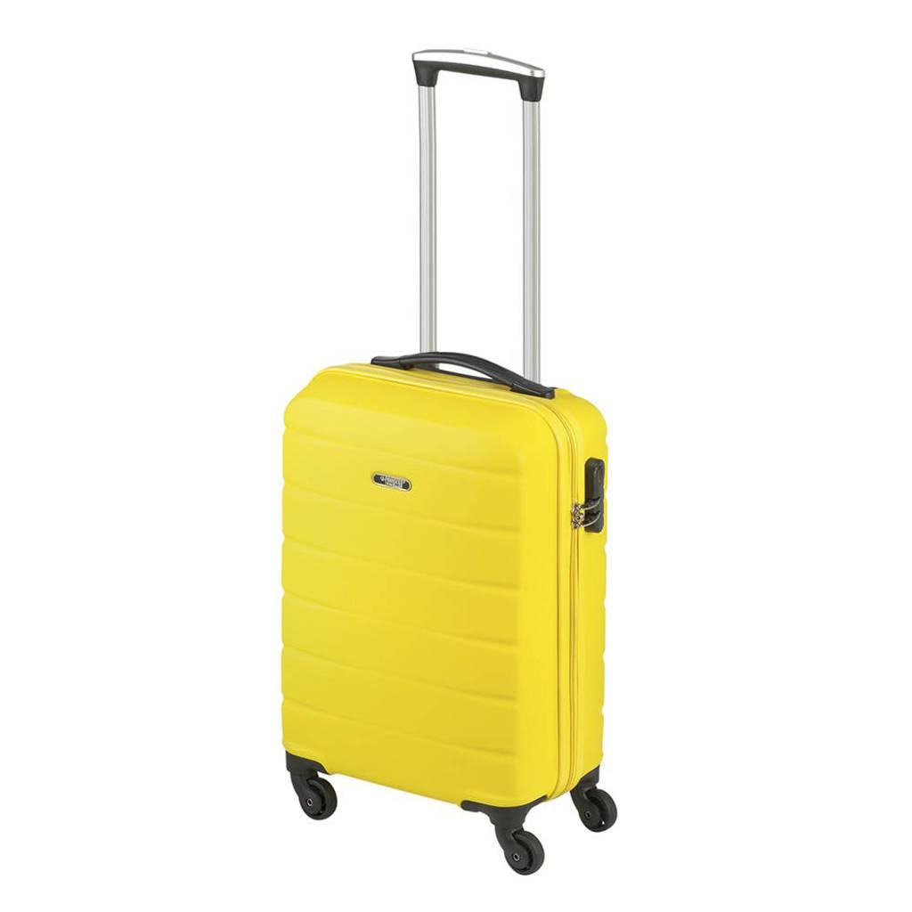 Princess Traveller  trolley Granada S 55 cm. geel, Geel