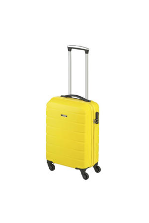 trolley Granada S 55 cm. geel