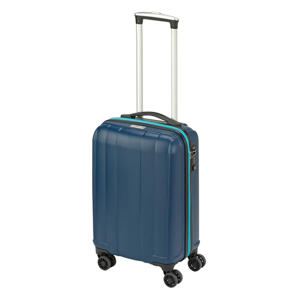 trolley Montreal S 55 cm. donkerblauw